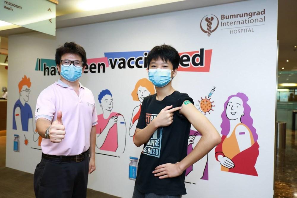 ฉีดวัคซีนโควิด ฉีดวัคซีนโควิดให้กับเด็ก โรงพยาบาลบำรุงราฏร์