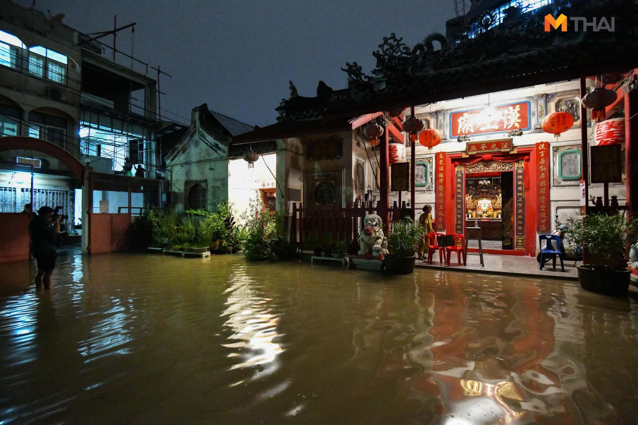 น้ำท่วม ศาลเจ้าโรงเกือก