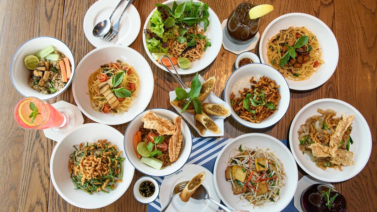 asava Sava All Day Dining อาหารเจ เทศกาลกินเจ เมนูอาหารเจ