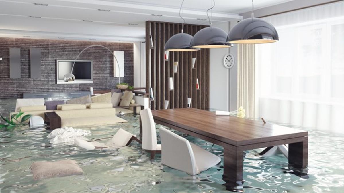 ทำความสะอาดบ้าน น้ำท่วม บ้านน้ำท่วม เทคนิคทำความสะอาดบ้าน