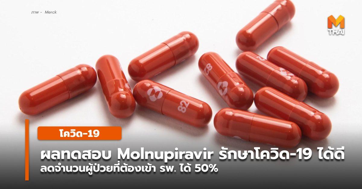 molnupiravir ยารักษาโควิด-19 โควิด-19 โมลนูพิราเวียร์